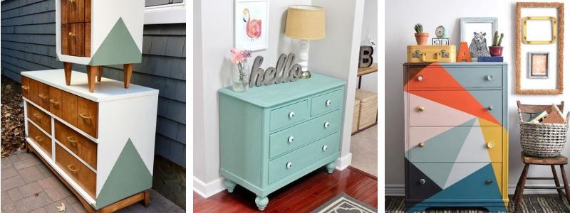 C mo pintar muebles de madera consejos pasos a seguir y - Pintar muebles viejos ...
