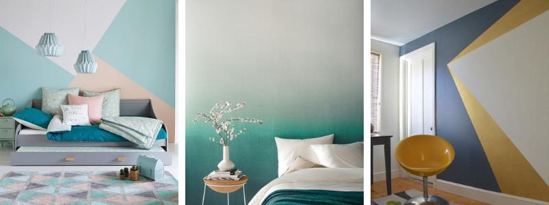 Aprende a pintar paredes de forma original